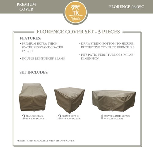 TK Classics Florence 6 Piece Cover Set
