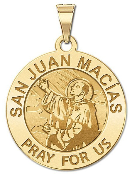 PicturesOnGold.com Saint Ladislaus Religious Medal or Sterling Silver Available in Solid 14K Yellow or White Gold