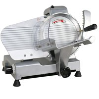 "Zeny Commercial Electric Meat Slicer 10"" Blade 240w 530 rpm Deli Food cutter"