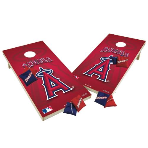 TTXL Shield Design 1MLB Los Angeles Angels Bean Bag Toss Game