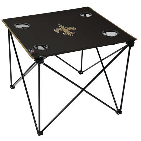 Nfl Tailgate Table - NFL New Orleans Saints Deluxe Table
