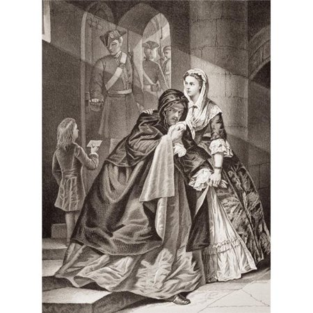 Posterazzi DPI1860089LARGE The Escape of Lord Nithsdale From The Tower 1716 William Maxwell Fifth Earl Poster Print, Large - 24 x 34 - image 1 de 1