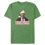 National Lampoon's Christmas Vacation Men's Clark Crazy About Christmas T-Shirt