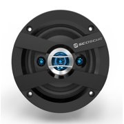 Scosche Hd4004sd 4-Way Hd 4 Inch Speaker set 120-watts peak/30-watts