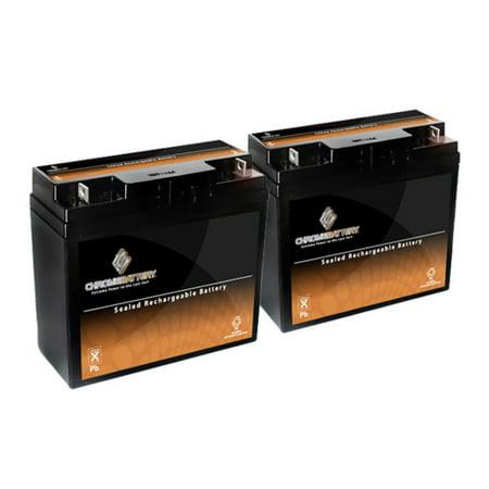 12V 18AH Sealed Lead Acid (SLA) Battery - T3 Terminals - for ZB-12-18 (2