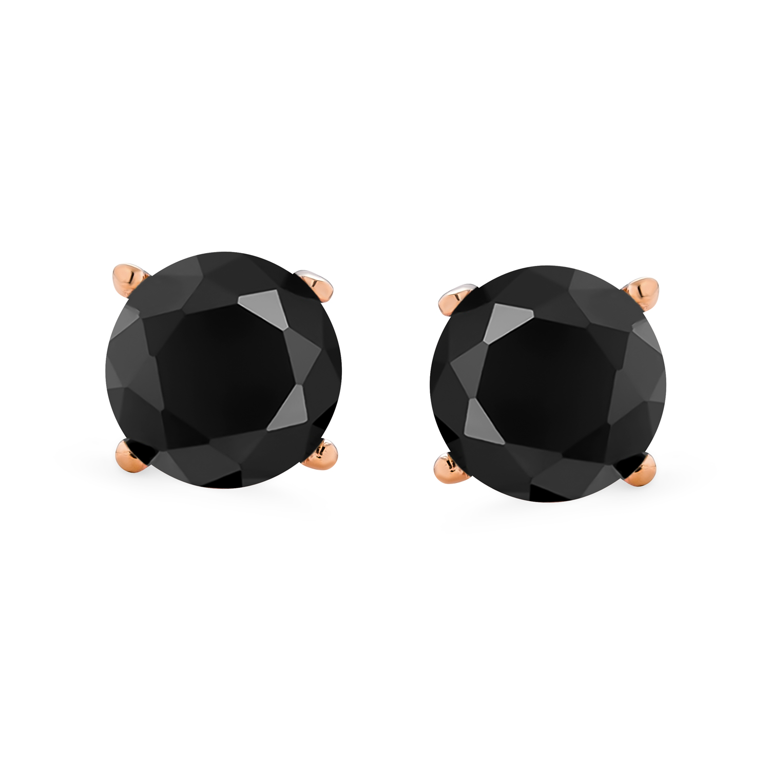 Skull earrings sterling silver black rhodium plated Small stud earrings screw back Fast shipping from USA