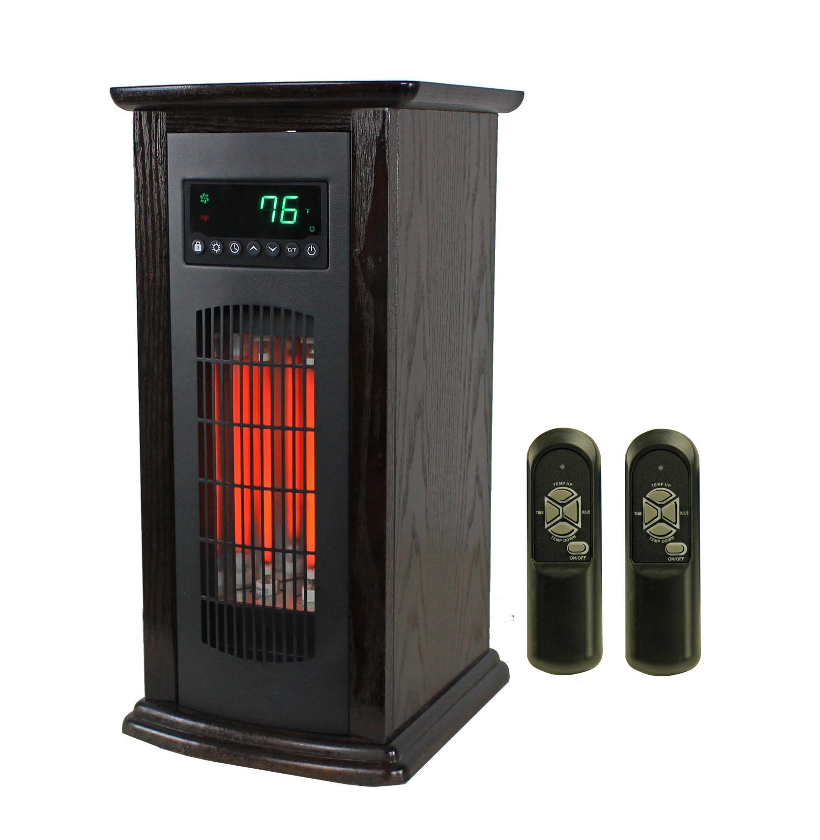 LifeSmart LifePro LS-PCHT1029 1,500 Watts Portable Infrared Quartz Tower Heater