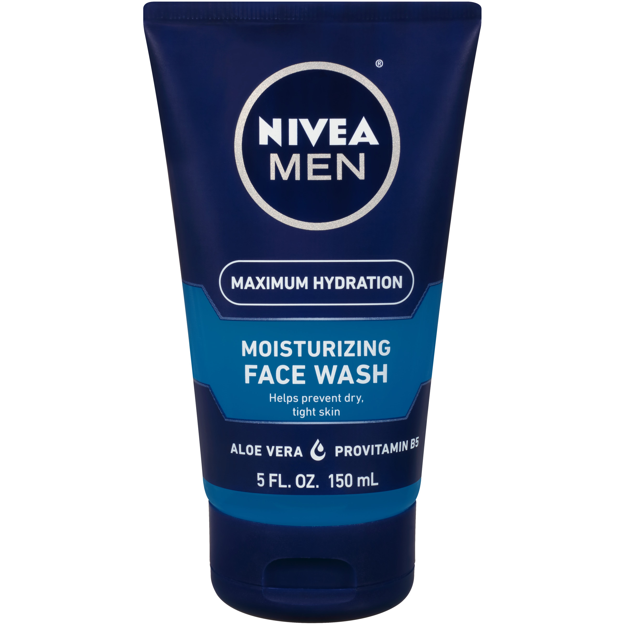 NIVEA Men Maximum Hydration Moisturizing Face Wash 5 fl. oz. - Walmart.com
