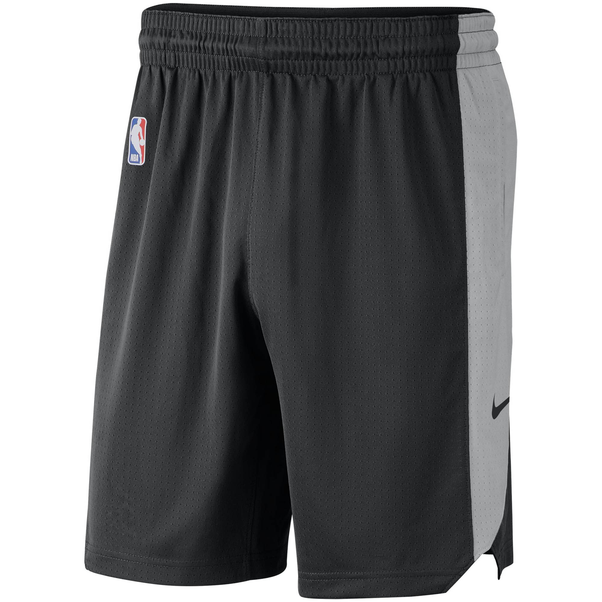 San Antonio Spurs Nike Performance Practice Shorts - Black