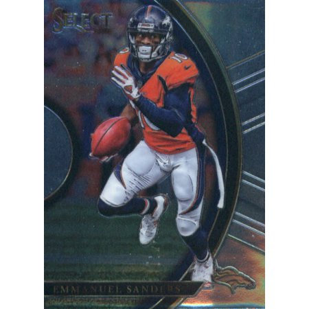 2017 Panini Select #45 Emmanuel Sanders Denver Broncos Football - Halloween Bars Denver 2017