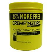 Cream of Nature No Base Relaxer 18.75 oz. - Super Bonus 18.75 oz. (Pack of 6)