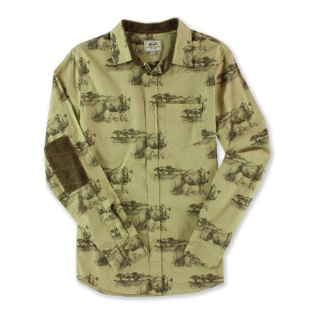 Ecko Unltd. Mens Skinny Rhino Button Up Shirt