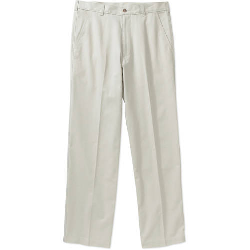 George - Big Men's Pleated-Front Wrinkle-Resistant Pants