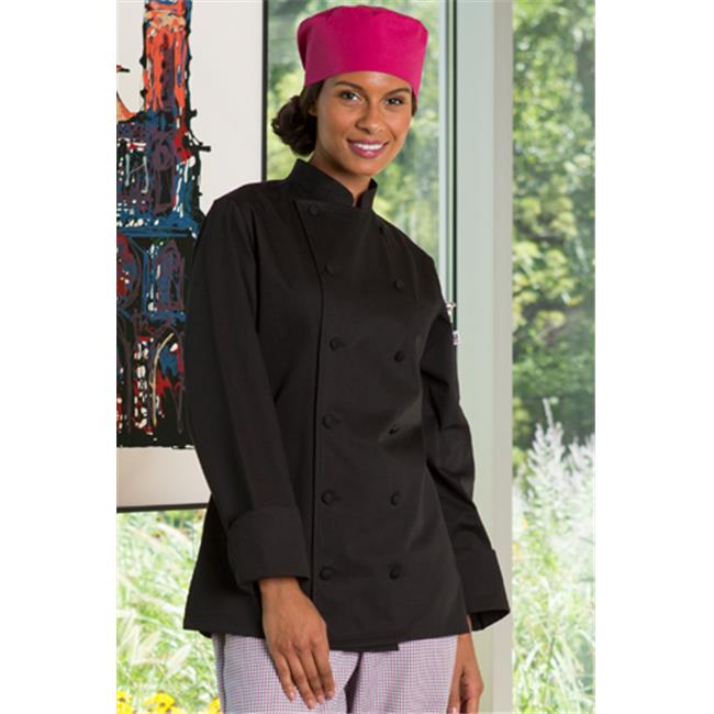 vtex 0470c-0103 navona ladies coat, black, medium