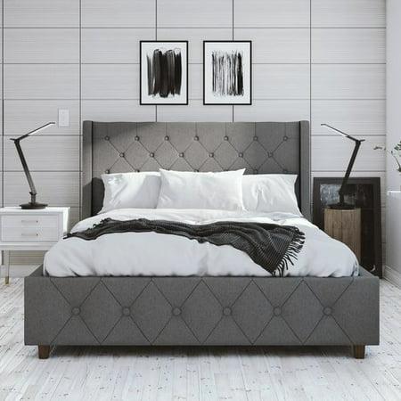CosmoLiving by Cosmopolitan Mercer Upholstered Platform Bed ()