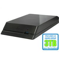 Avolusion HDDGear 3TB USB 3.0 External Gaming Hard Drive (for PS4, PS4 Slim, PS4 Slim Pro) - 2 Year Warranty