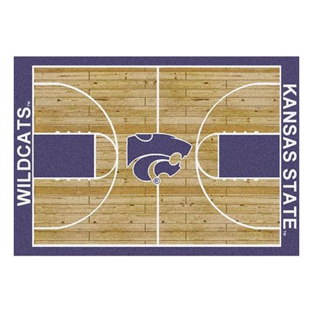 Milliken Ncaa College Home Court Area Rugs   Contemporary 01125 Ncaa College Basketball Sports Novelty Rug