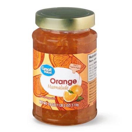 Great Value Orange Marmalade, 18 oz (Crockpot Orange Chicken Recipe With Orange Marmalade)