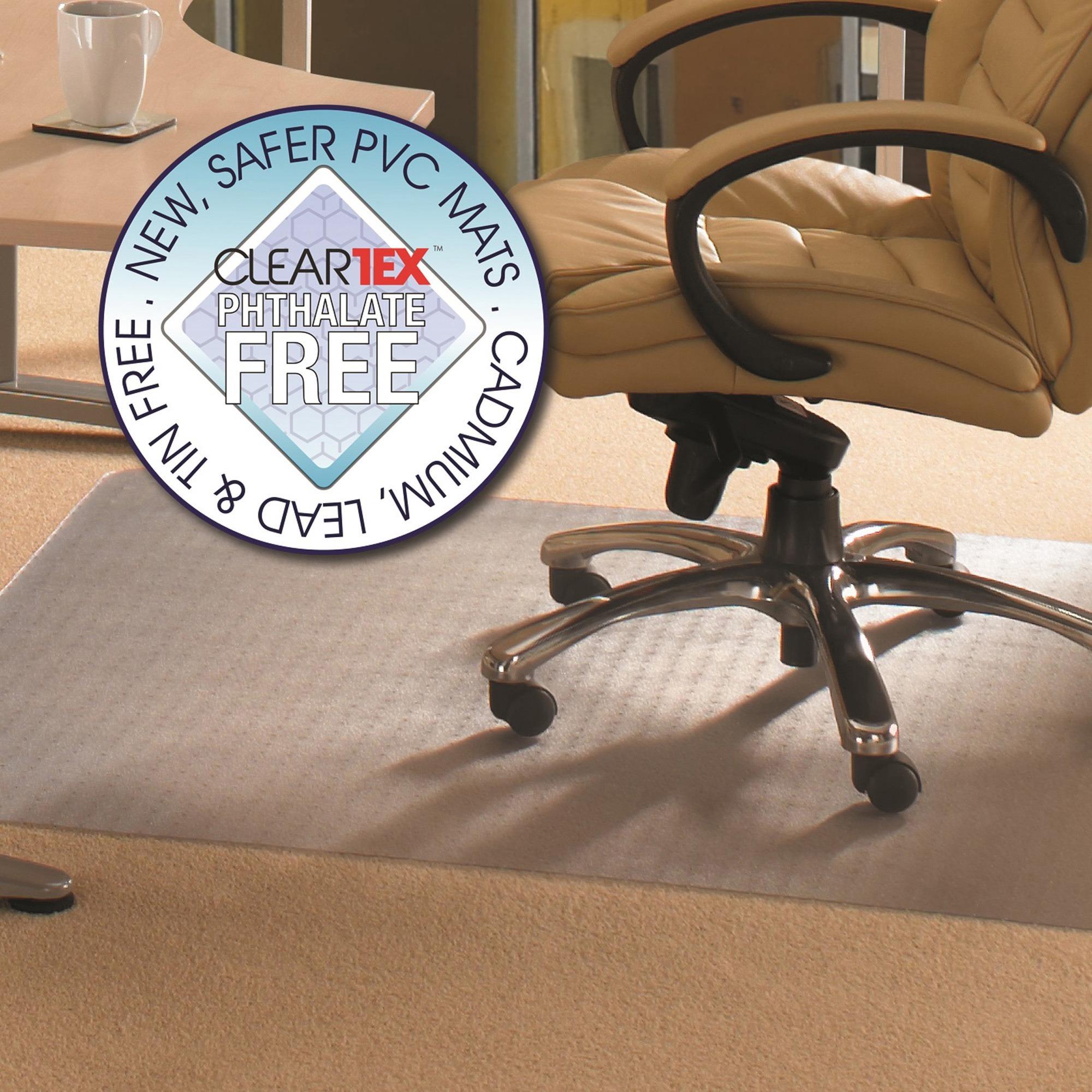 Floortex Cleartex Advantagemat 36 x 48 Chair Mat for Low Pile Carpet, Rectangular