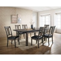 Cambridge Drexel 7-Piece Dining Set with Six Cushioned Chairs