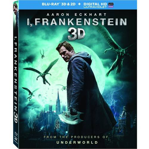 I, Frankenstein (3D Blu-ray + Blu-ray + DVD + Digital HD) (With INSTAWATCH) (With INSTAWATCH) (Widescreen)