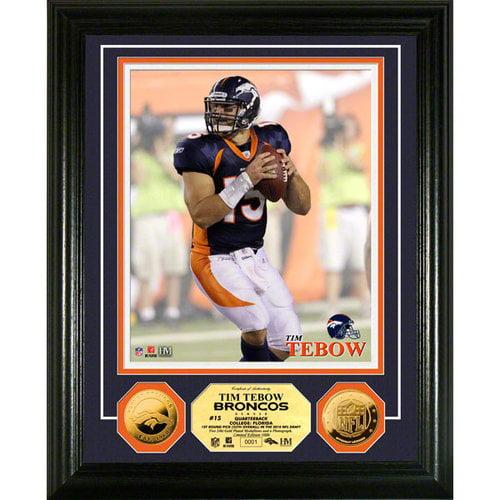 NFL - Tim Tebow Denver Broncos 24KT Gold Coin Photo Mint