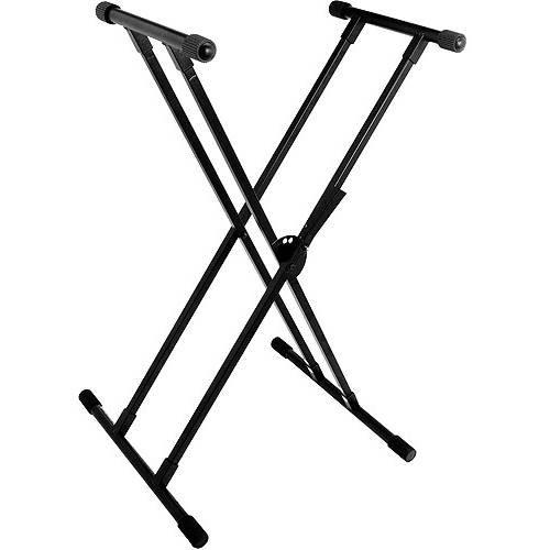 World Tour Double X-Braced Keyboard Stand