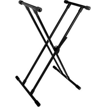 World Tour Double X Braced Keyboard Stand Walmart Com