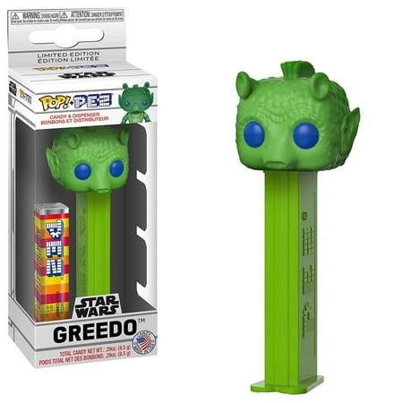Funko Star Wars POP PEZ Greedo Dispenser - Star Wars Pez