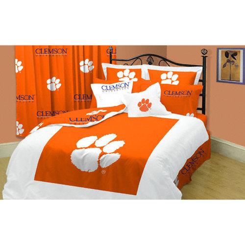 NCAA - Clemson Tigers 8-Piece Comforter Set - Full