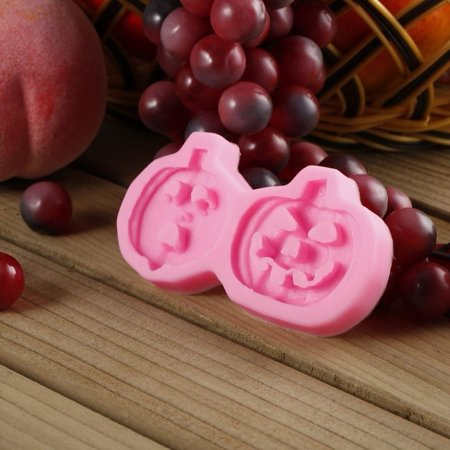 cnmodle 3D Halloween Pumpkin Cake Mold Chocolate Candy Fondant Jelly Mould Baking