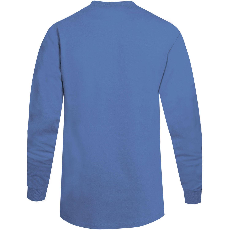 Hanes Men's Beefy Long Sleeve T-shirt, 2 Pack - Walmart.com