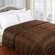Worcester Reversible Hypoallergenic Down Alternative Bed Blankets by Impressions - Twin