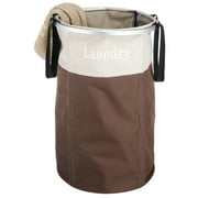 "Whitmor Easycare® Round Laundry Basket Hamper - Java - 15.75"" x 23.5"""