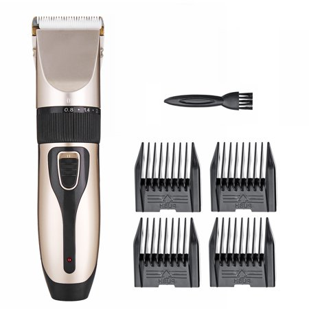 Professional Very Quiet Animal Pet Grooming Kit Cordless Cat Dog Hair Trimmer Clipper Shaver Set Pet Best Gift - image 1 of 7