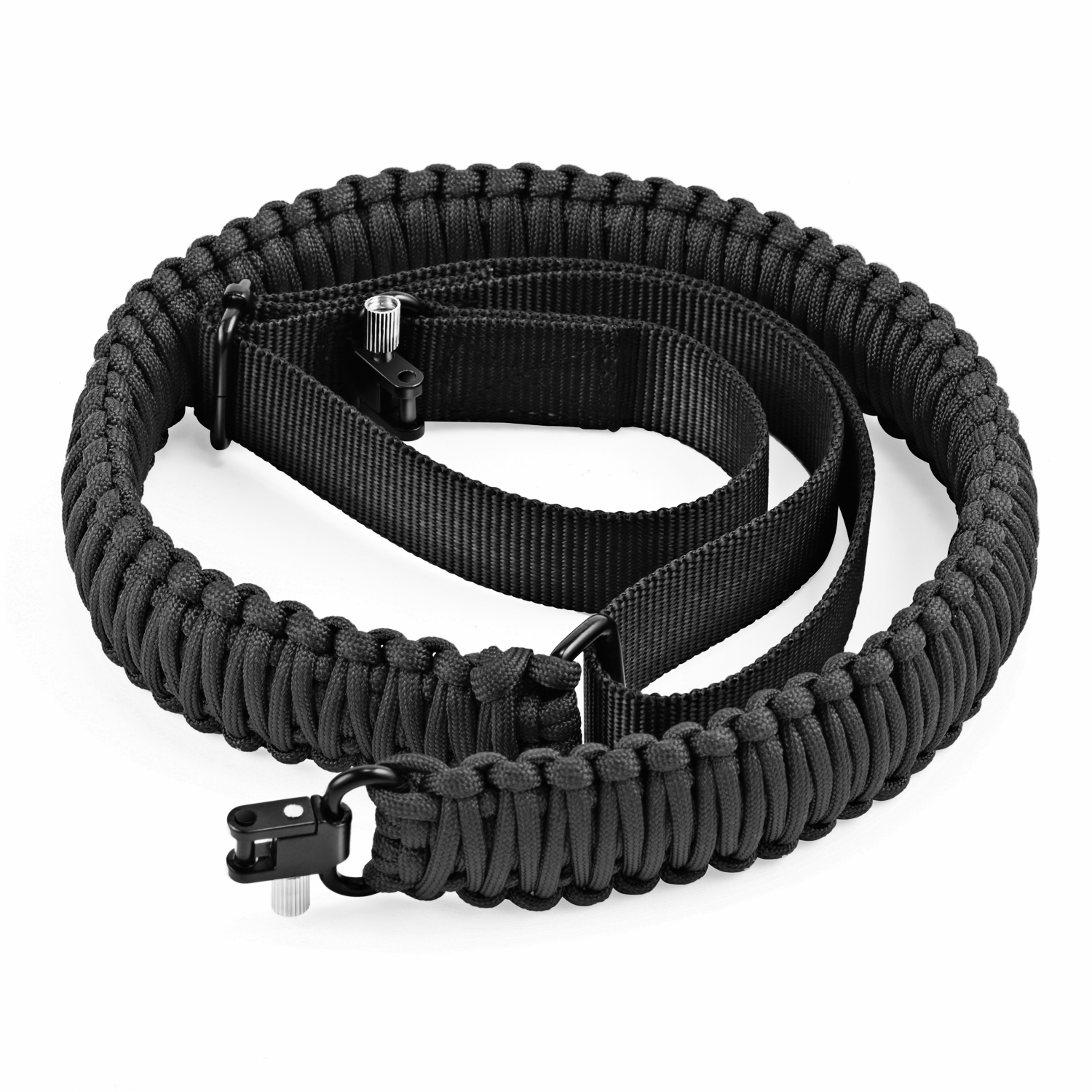 Gonex Gun Sling 550 Paracord Rifle Sling Adjustable with Swivel, Tactical Gun Sling for Hunting Camping Outdoors