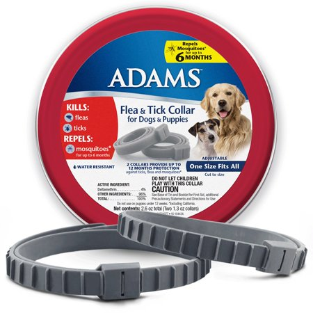 Adams Flea and Tick Collar for Dogs & Puppies 2