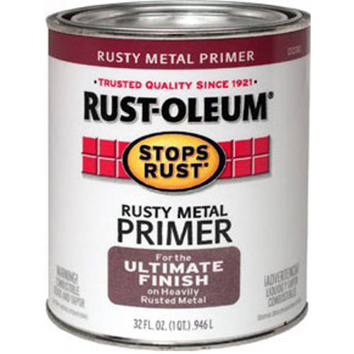 Rust-Oleum Stops Rust Quart, 32oz, Rusty Metal Primer