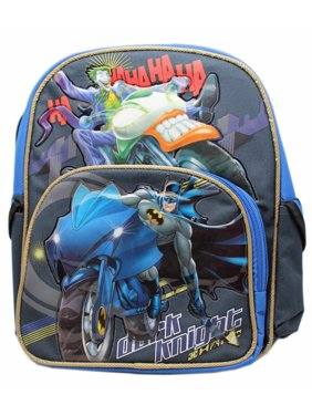 f67143bc8a6f Product Image DC Comics Batman the Dark Knight Fighting Joker Small Kids  Backpack (12in)