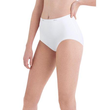 Diesel Striped Briefs - Hanes Women's Cotton White Briefs, 10-Pack