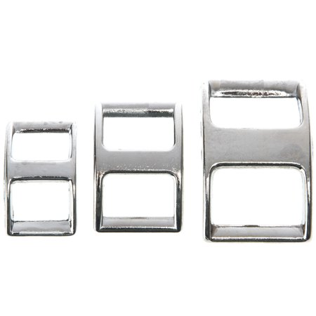 Weaver Leather 1 inch Nickel Plated Conway Buckle (Distressed Leather Buckle)