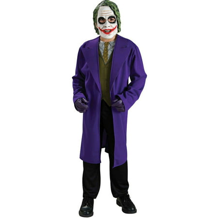 Batman Dark Knight The Joker Child Halloween Costume - Joker Halloween Costume Homemade