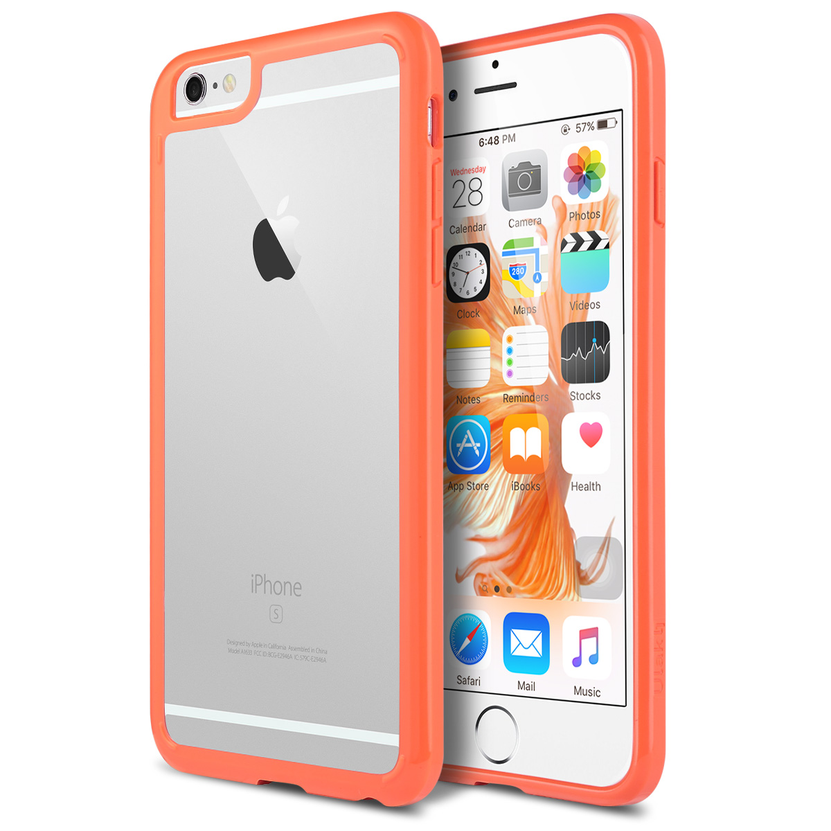 iPhone 6s Plus Case, ULAK [CLEAR SLIM] Hybrid Case PC Back TPU Bumper Corner Drop Protection Cover For Apple iPhone 6s Plus / 6 Plus 5.5 inch