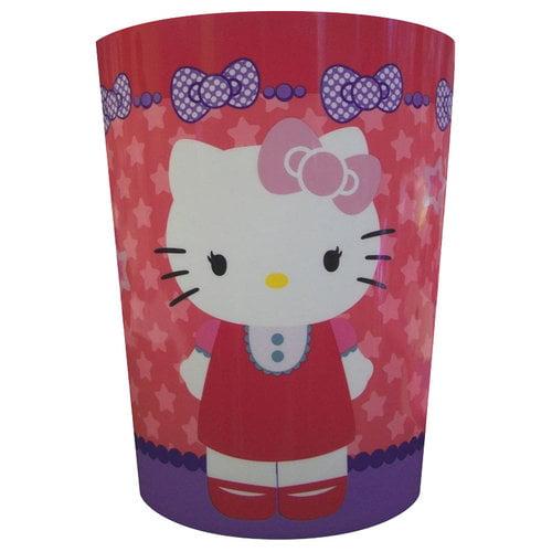 sanrio hello kitty bathroom trash can - walmart