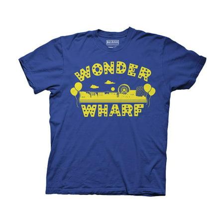 Ripple Junction Bob's Burgers Wonder Wharf Adult T-Shirt Royal
