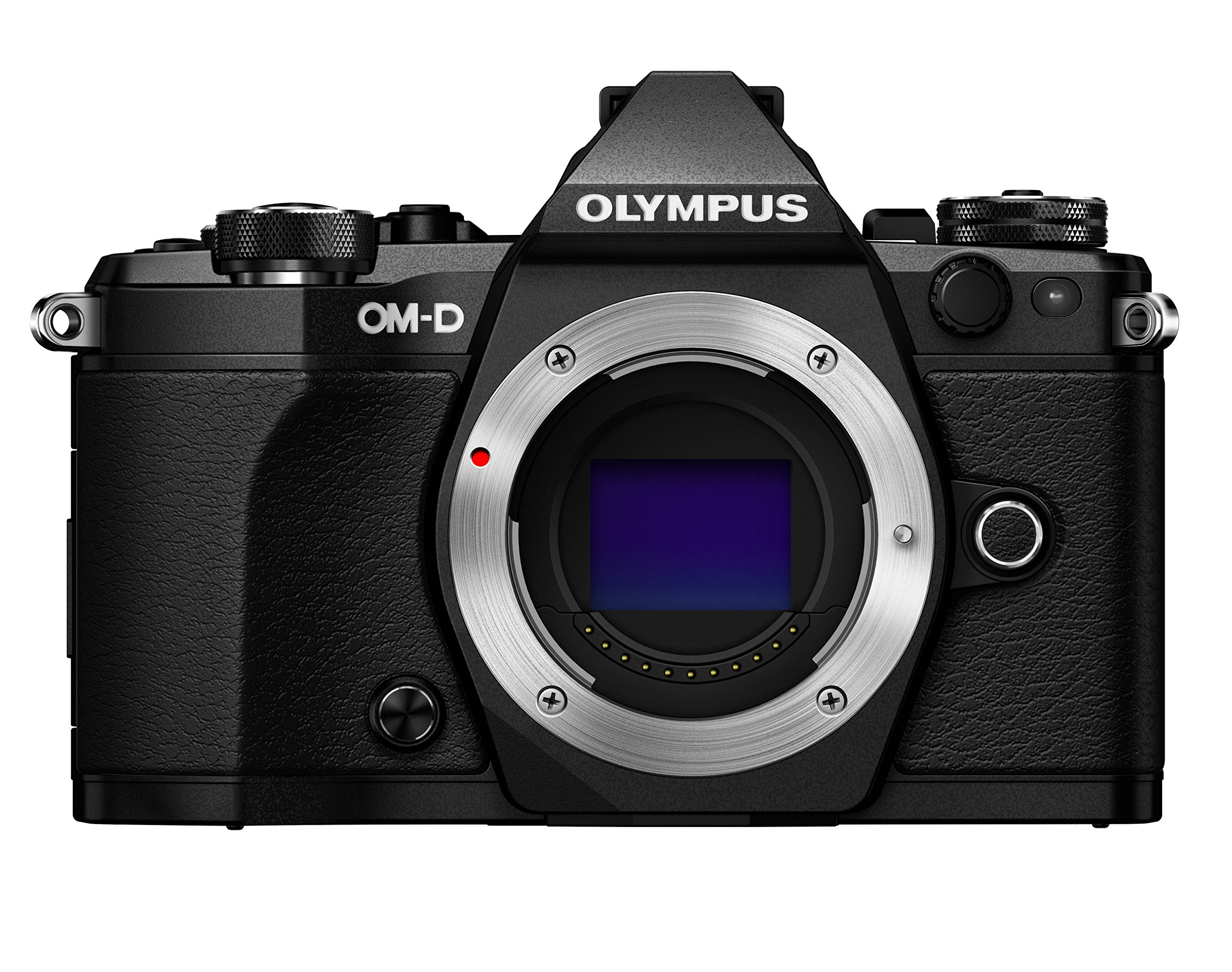 Olympus OM-D E-M5 Mark II Mirrorless Camera (Body Only), Black by Olympus