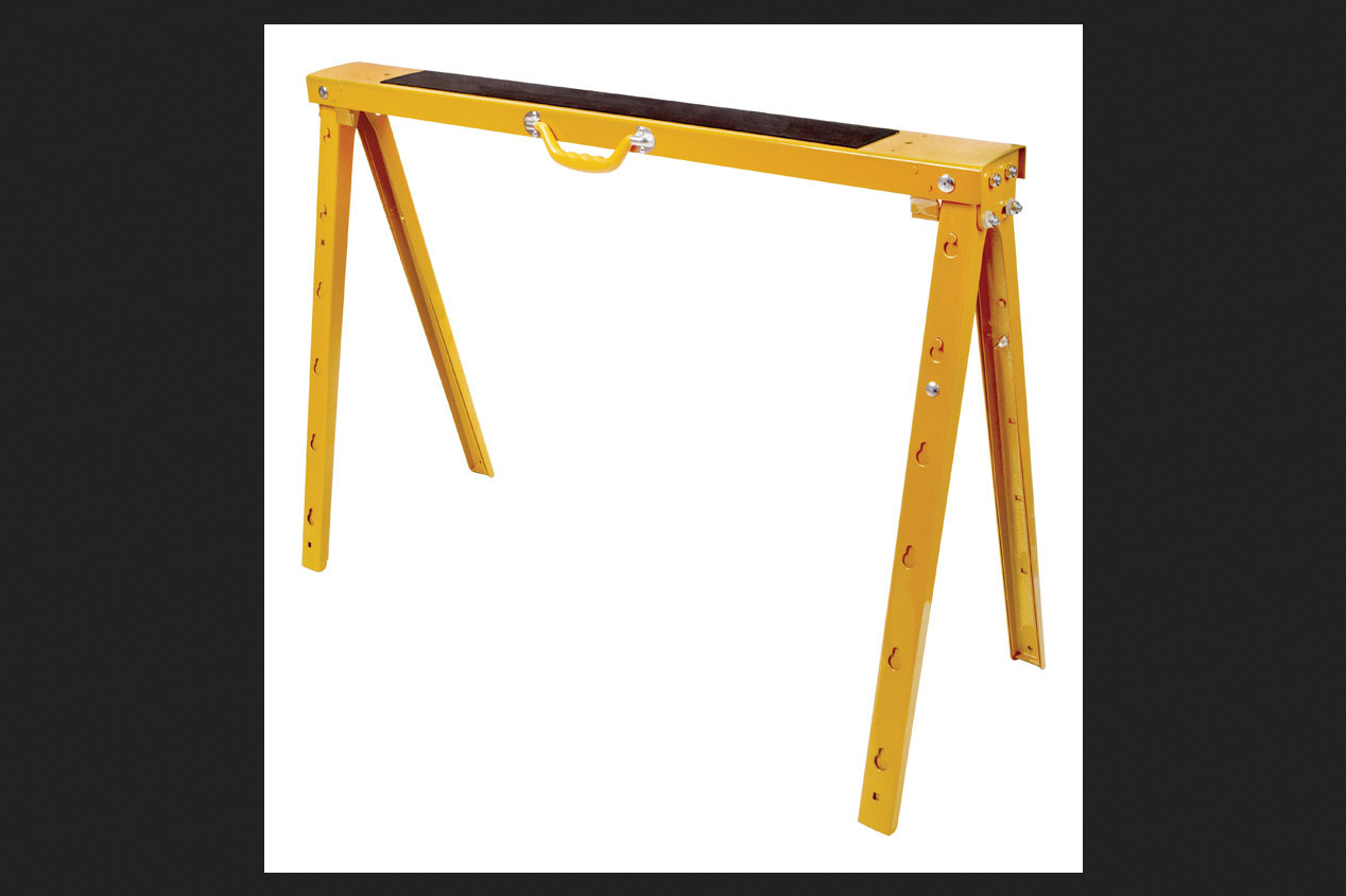 Ace Steel Heavy Duty Sawhorse 38 in. H by ACE