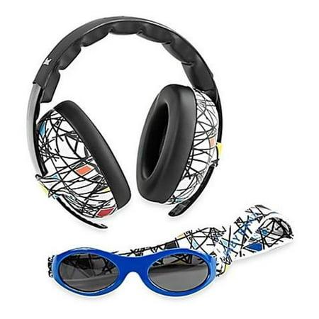 Sticks Sunglasses (EMBCSQ Adventure Baby Earmuff & Sunglasses Combo Set, Sticks &)