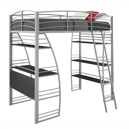 Dorel Dhp Studio Twin Metal Loft Bed