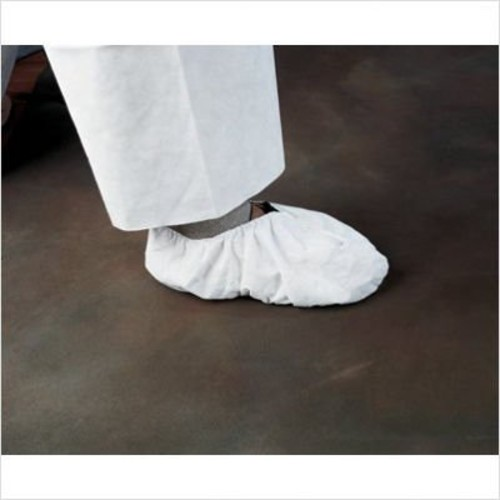 KleenGuard* A20 Breathable Particle Protection Shoe Covers, White, One Size Fits All